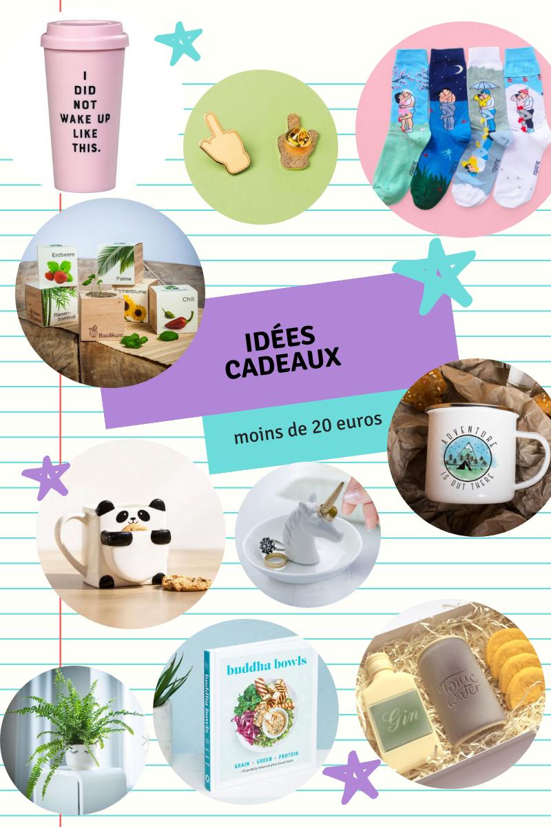 Noël : 10 idées cadeaux à moins de 20 euros !