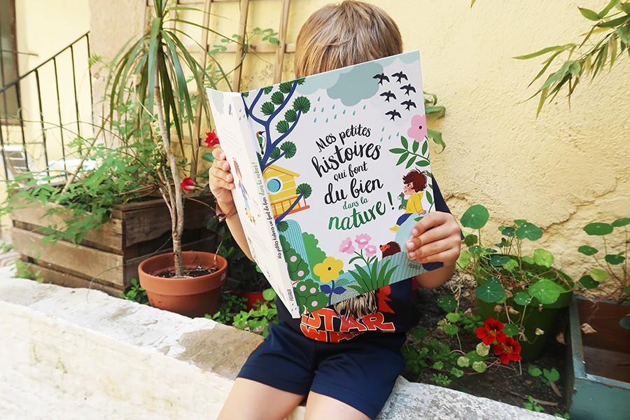 Petite lecture bien-être et nature pour enfant
