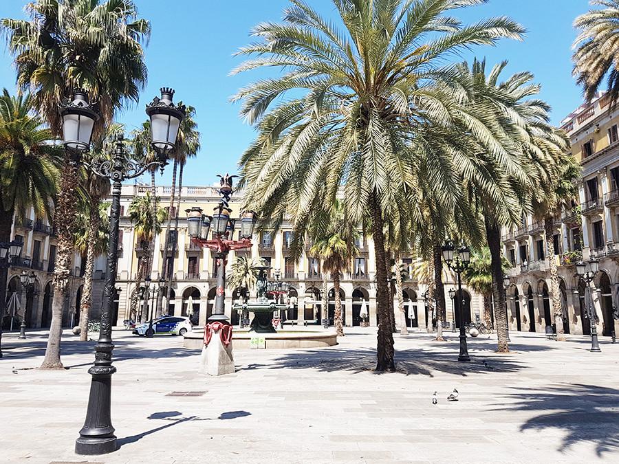 Une Barcelone vide et en photo pendant la pandémie
