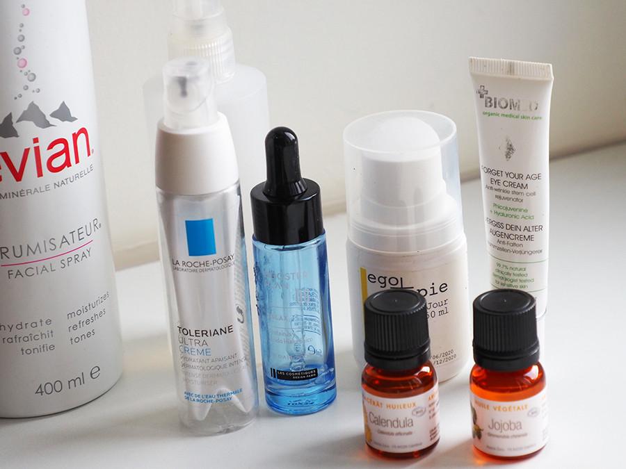 Ma routine soin peau sensible et réactive (rosacée)