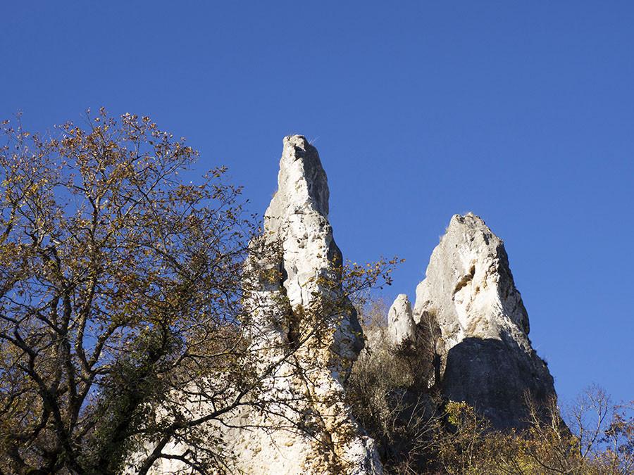 Balade dans la Nièvre : les roches de Basseville