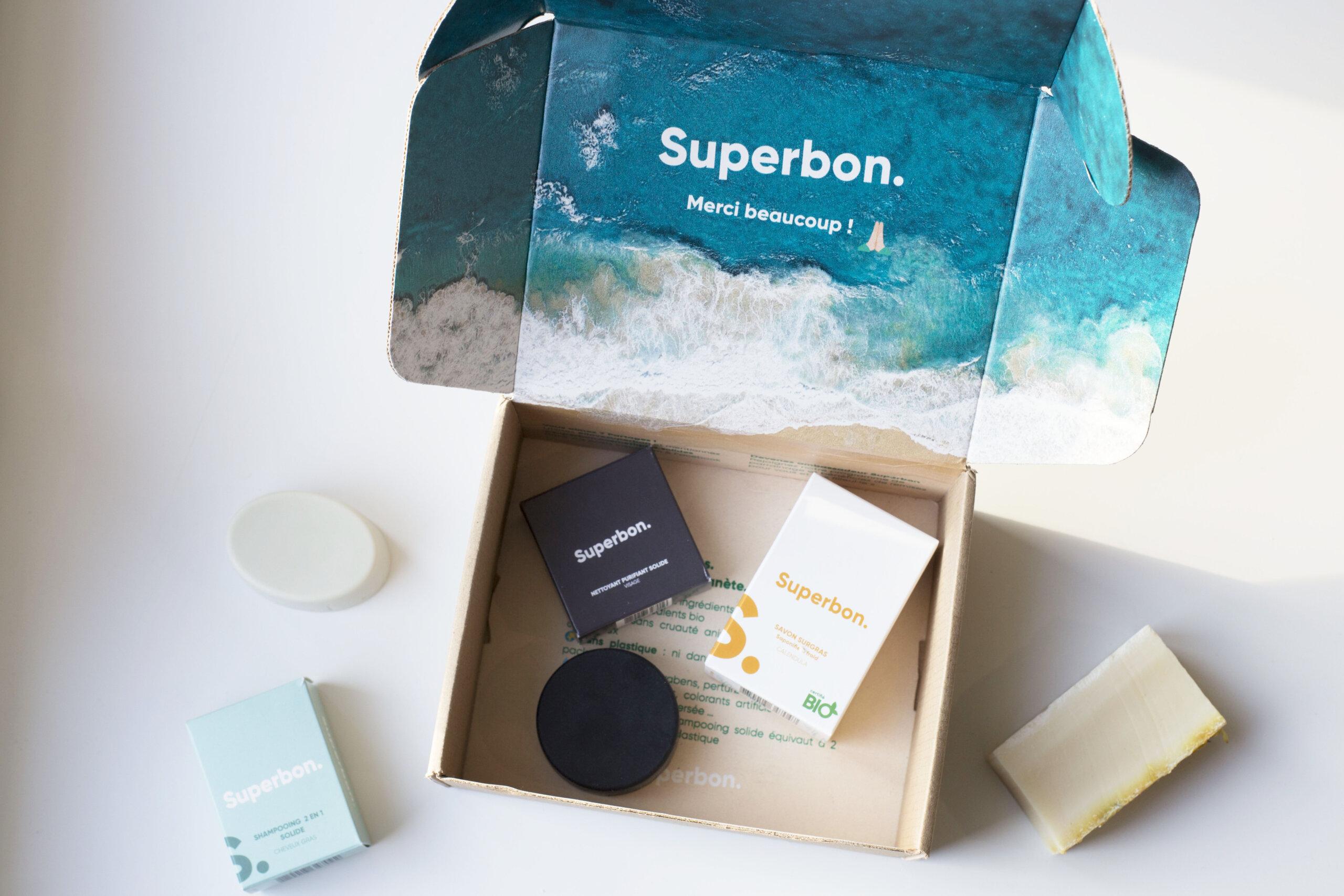 Les cosmétiques solides de chez Superbon