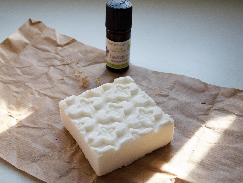 Recette savon à la lavande, beurre de karité et coco