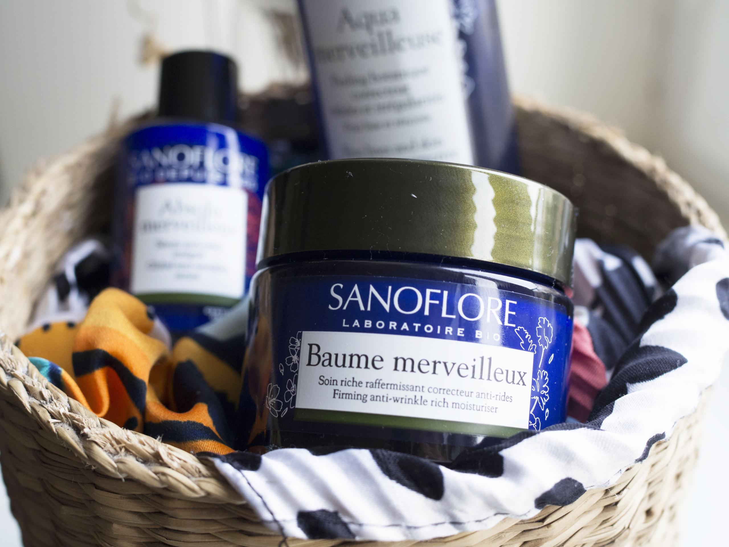 Trois soins Merveilleux certifiés Bio de Sanoflore