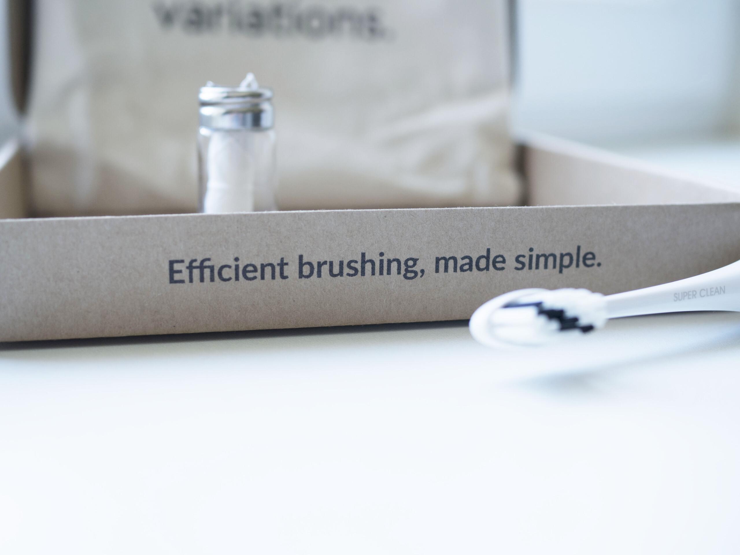 La brosse à dents Variations au 5 modes de brossage