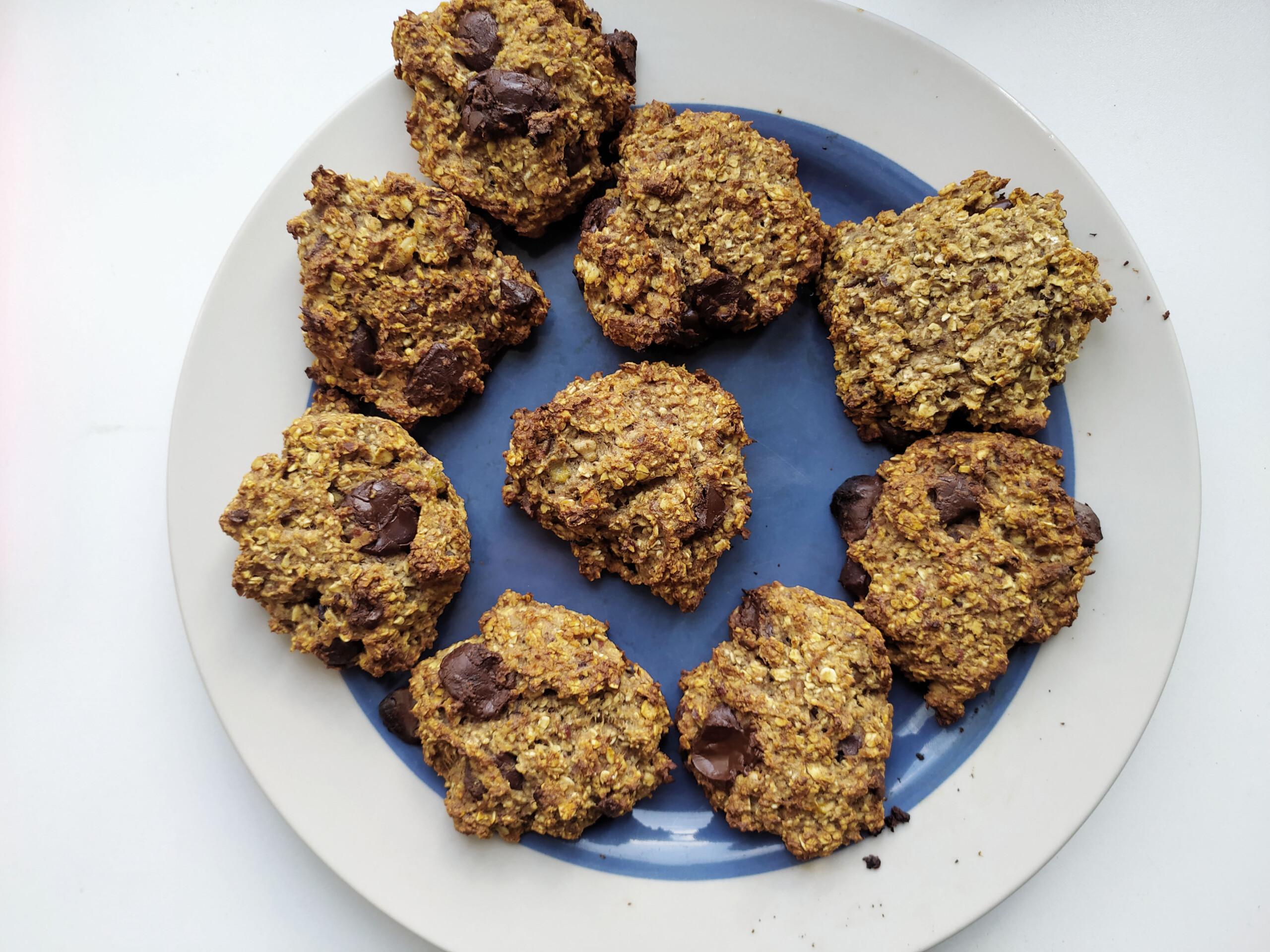 La recette des Cookies super healthy super gourmands !