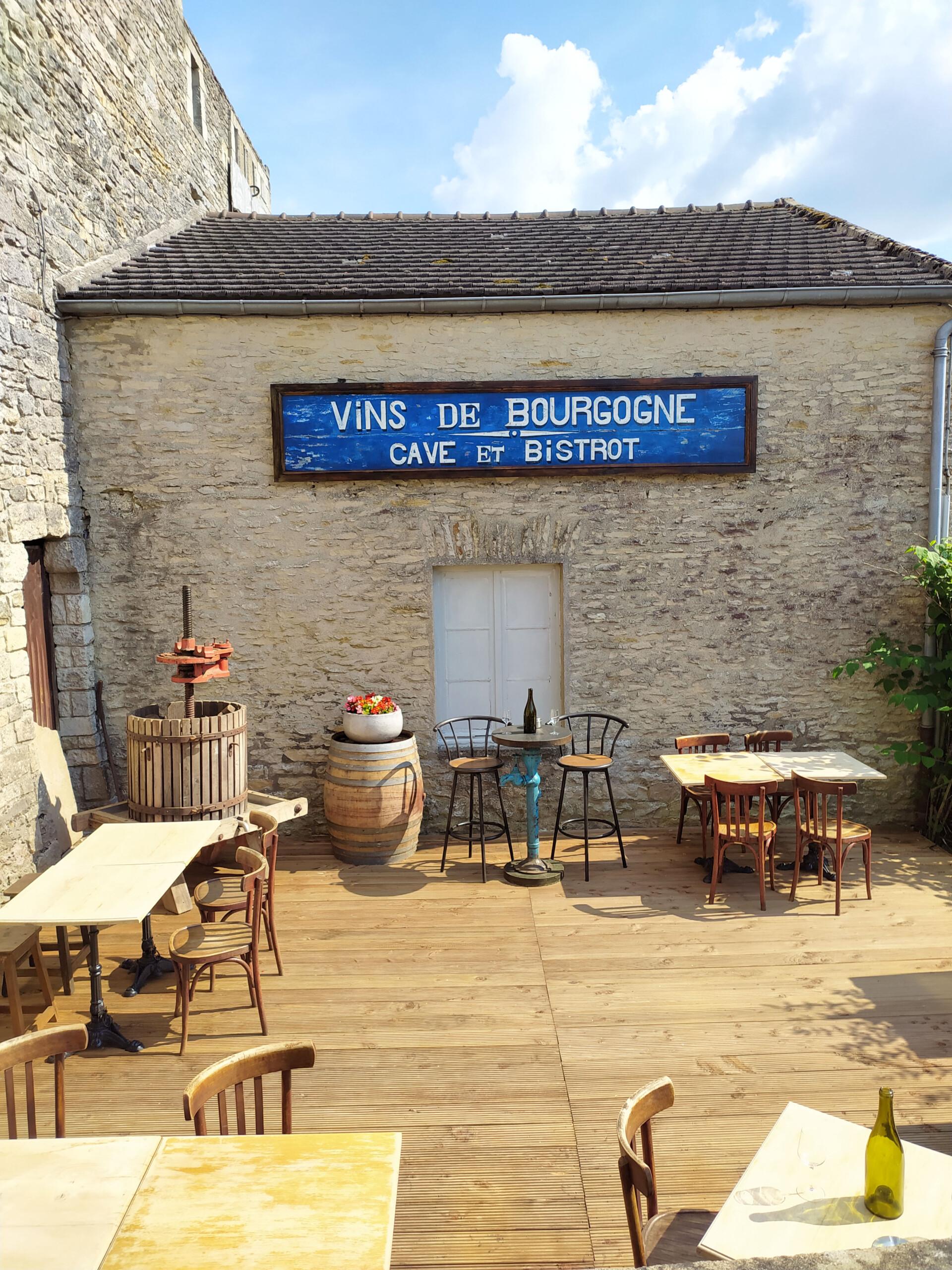 Julien Cohen Vézelay bar à vin