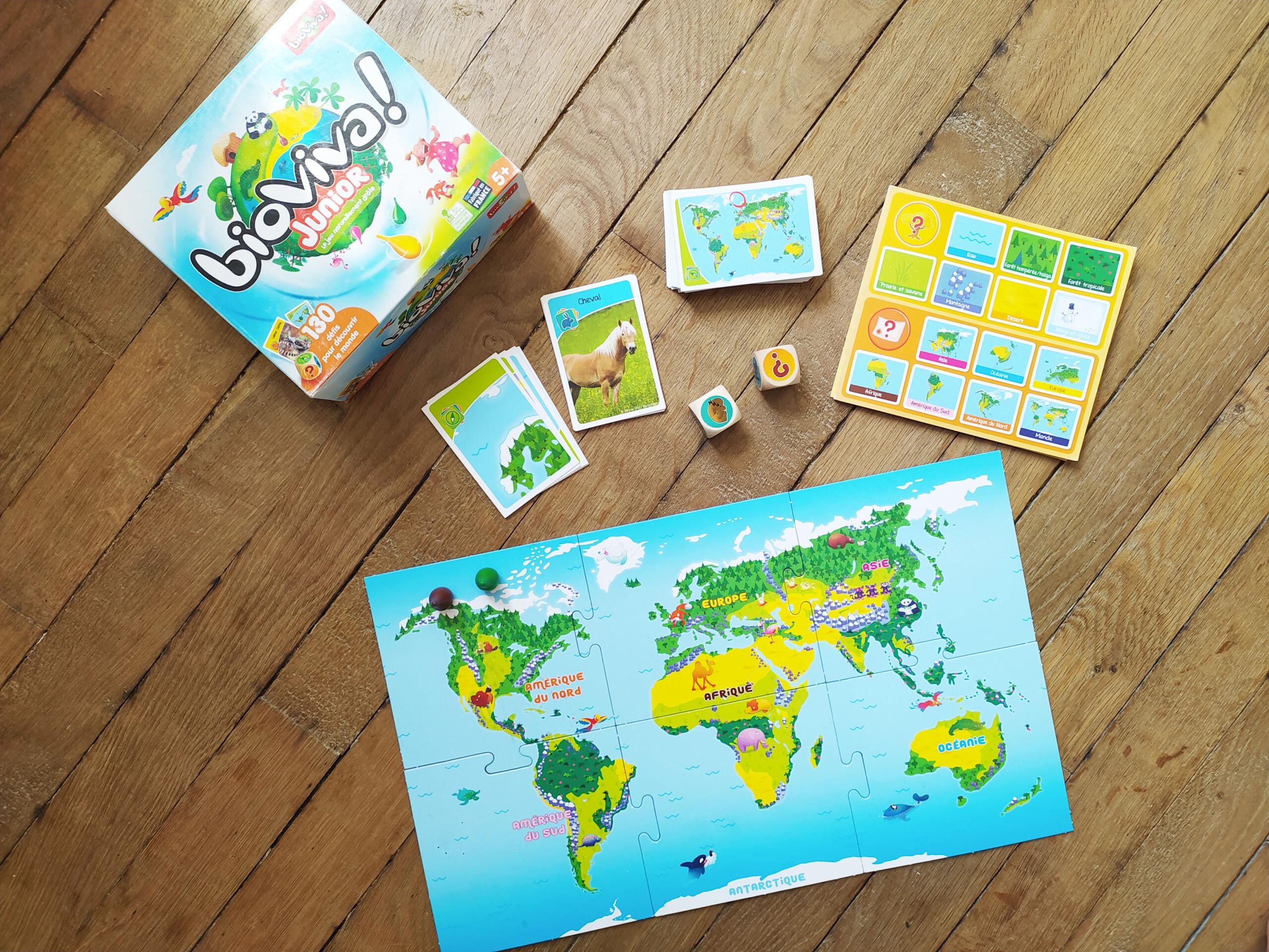 3 jeux de société pour apprendre le monde
