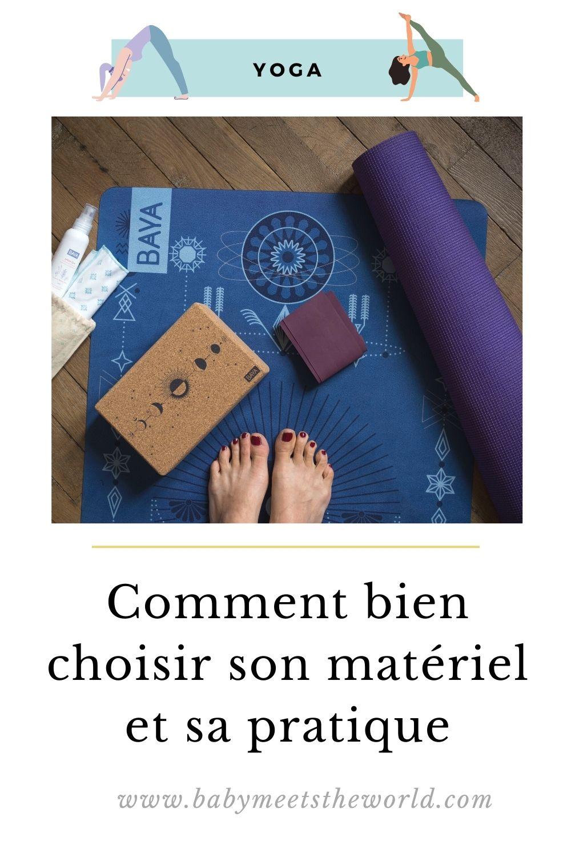 comment pratiquer le Yoga