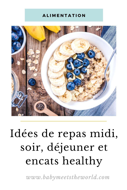 idées repas healthy