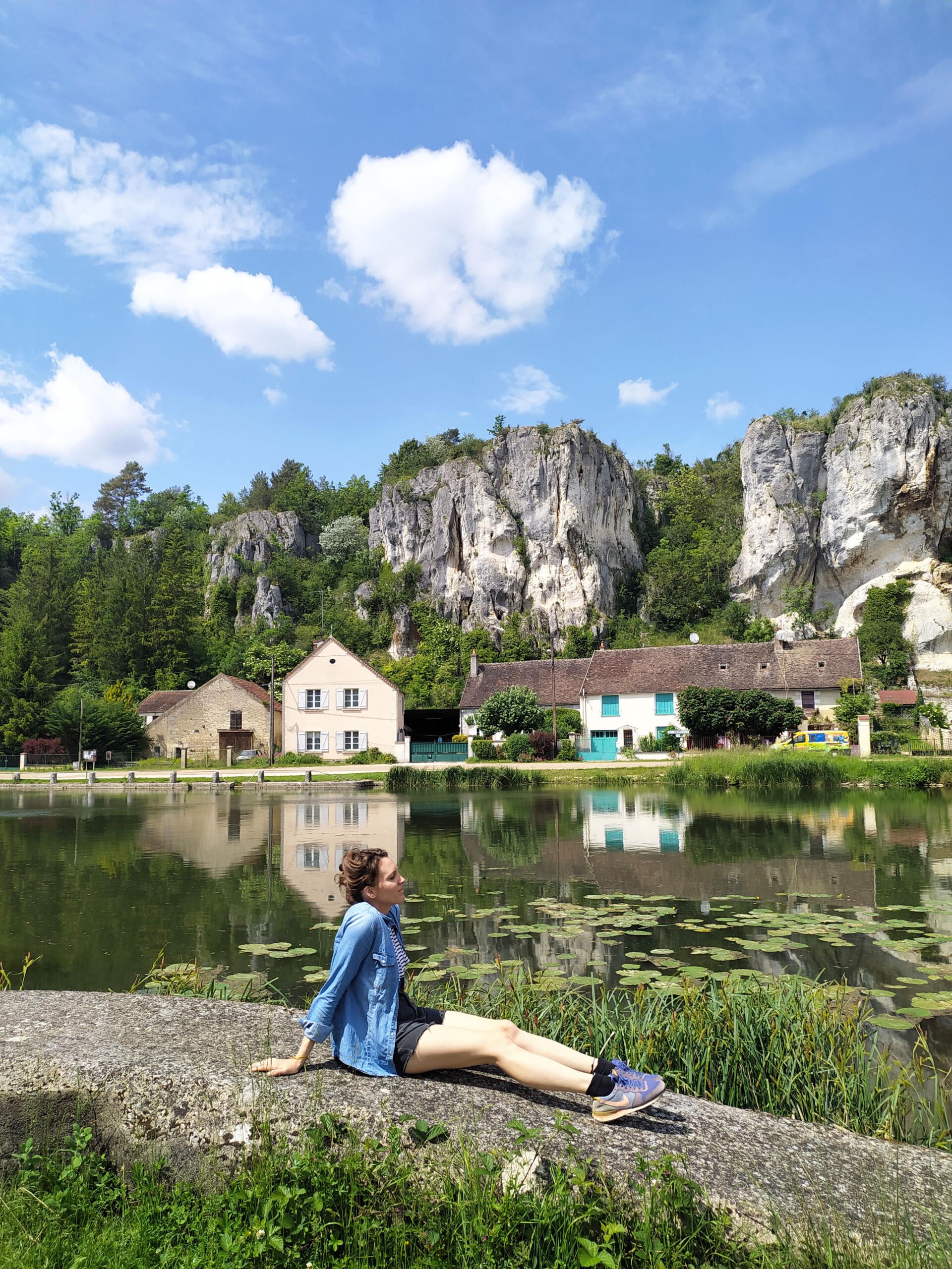 Le rocher du Saussois dans l'Yonne