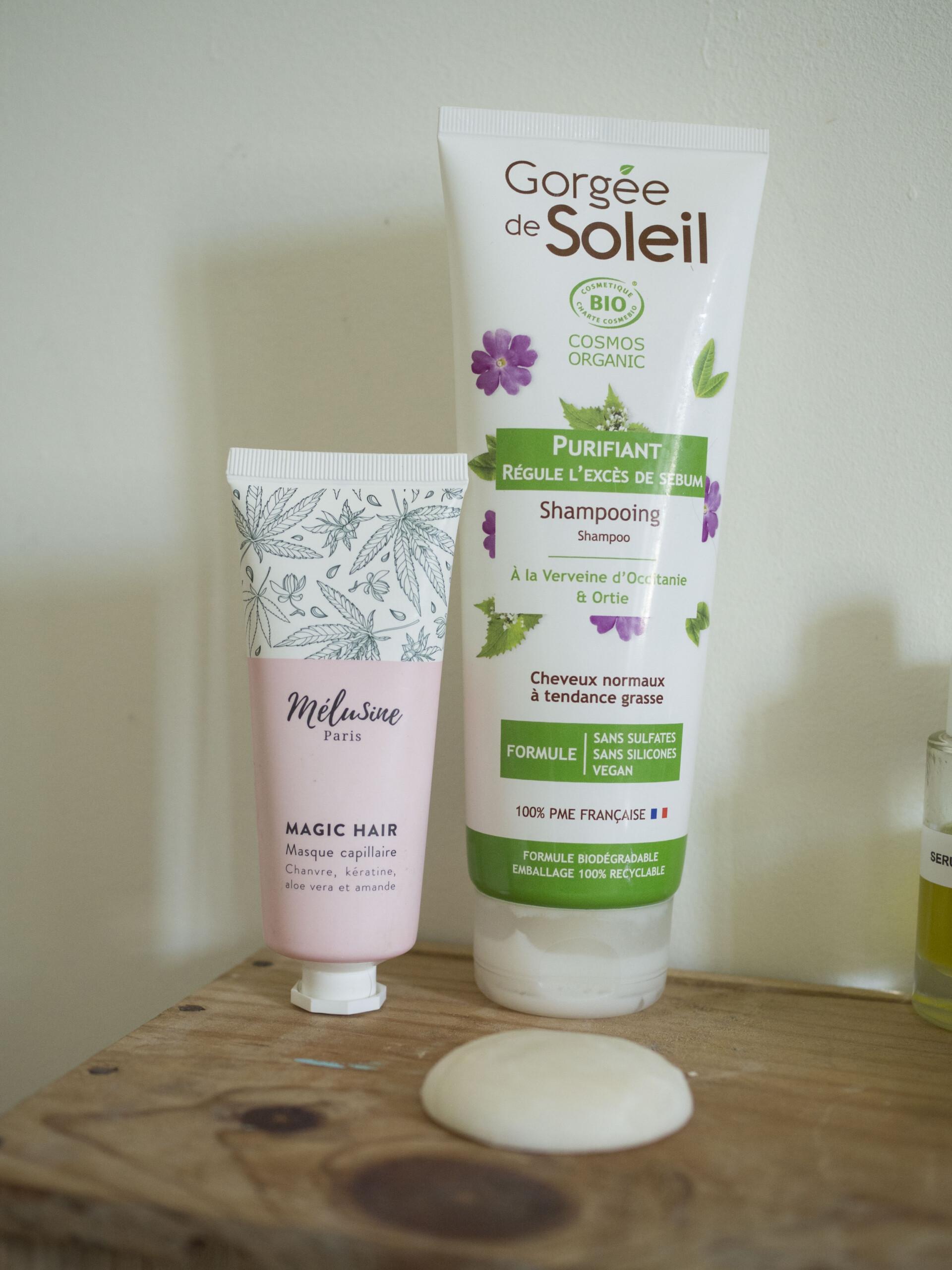 shampoings cheveux bouclés