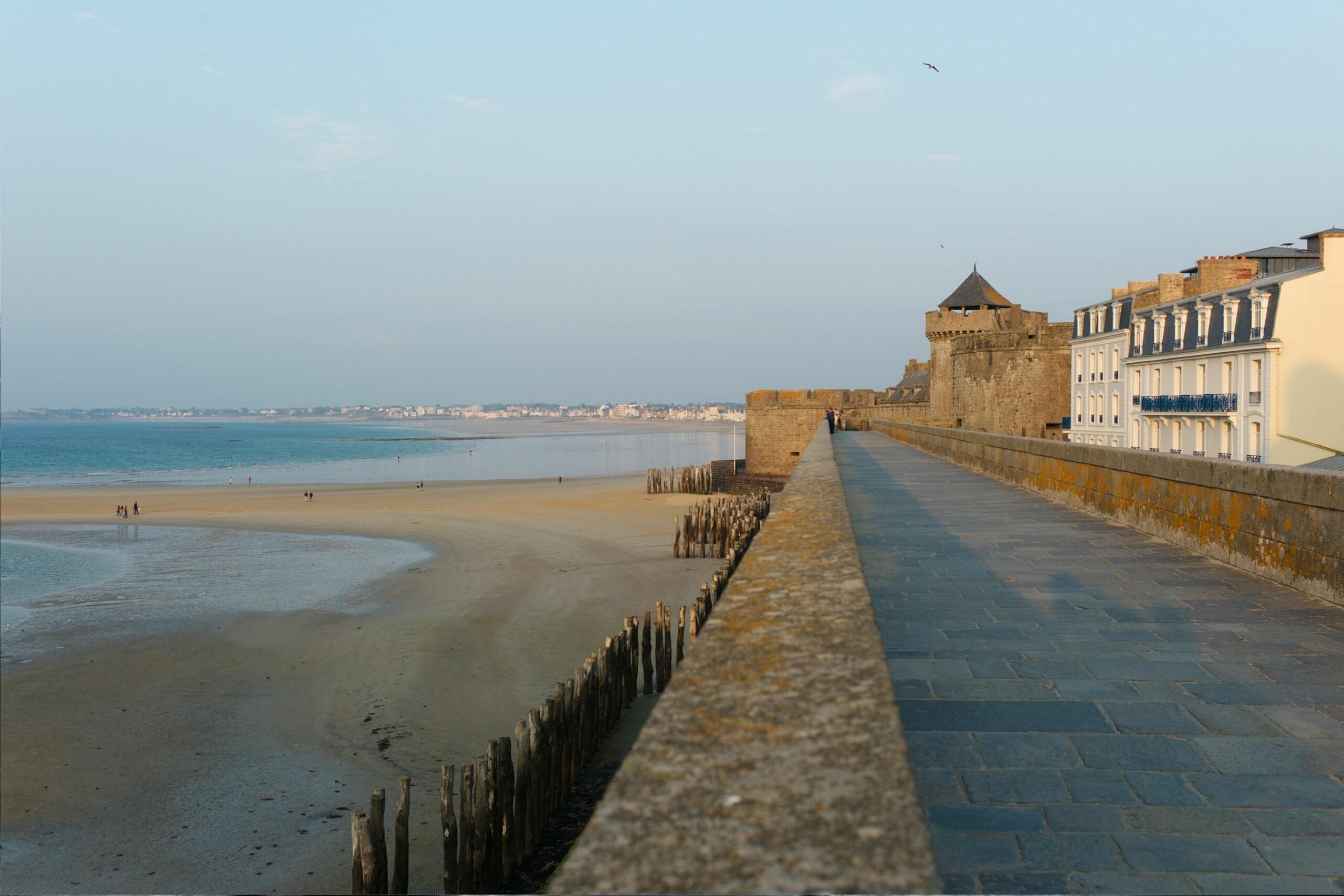 Saint Malo bord de mer