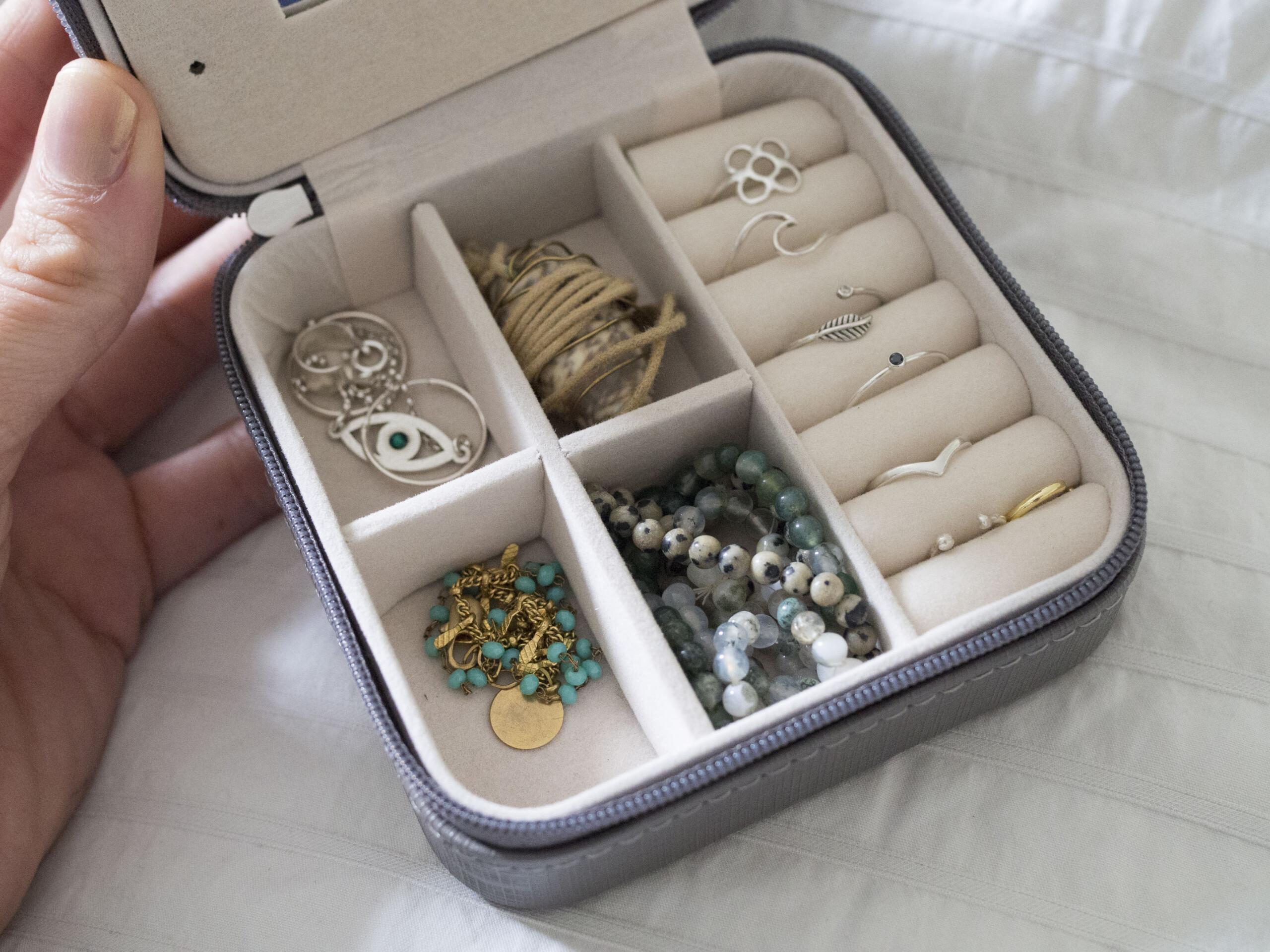 boite à bijoux voyage