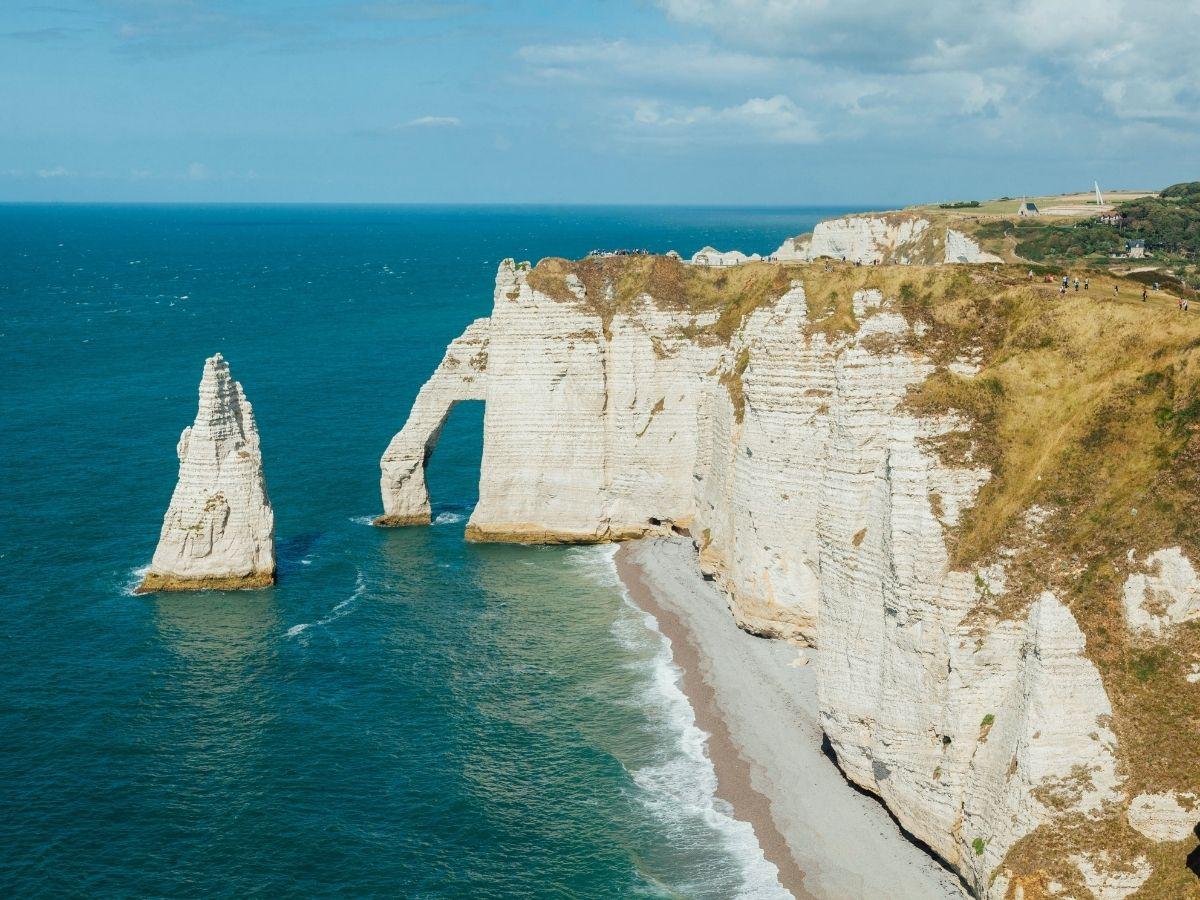Top 5 en Normandie les falaises d'Étretat