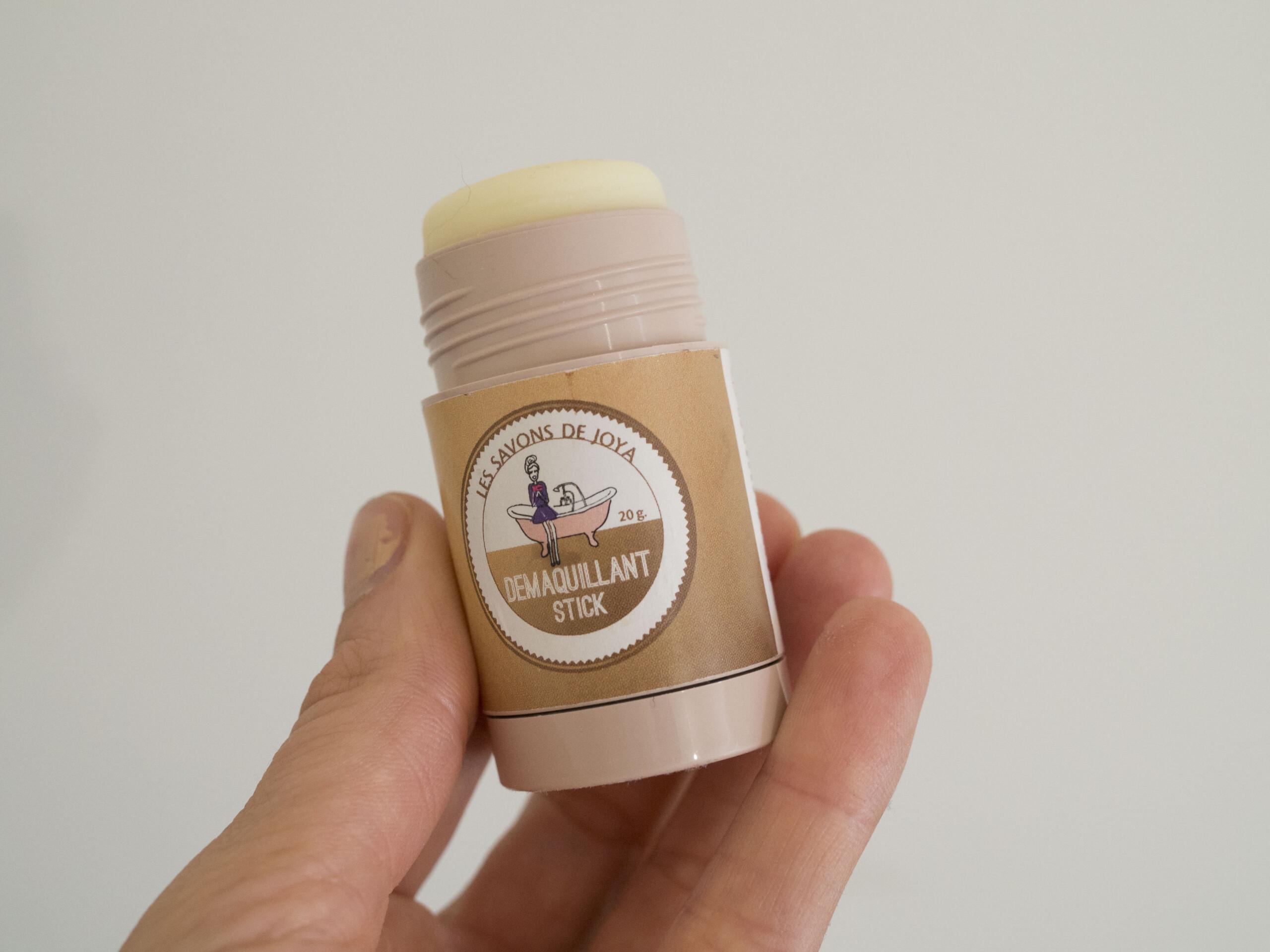 demaquillant solide les savons de Joya