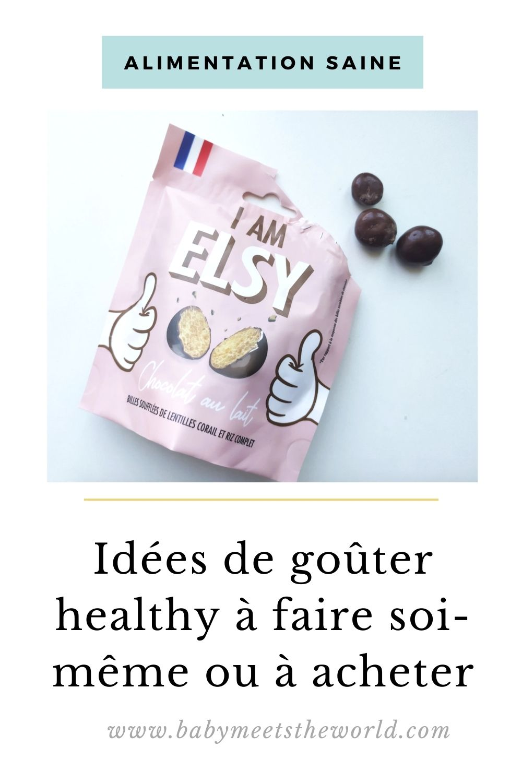 idée goûter healthy