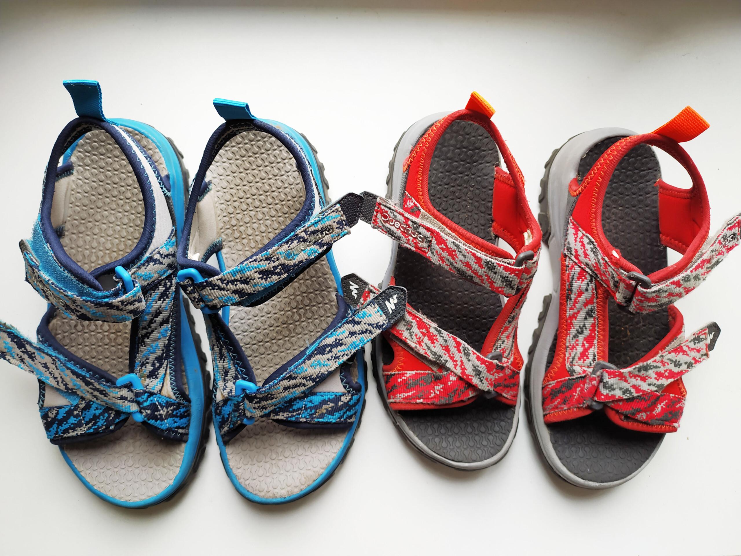 quelles chaussures enfant pour thailande