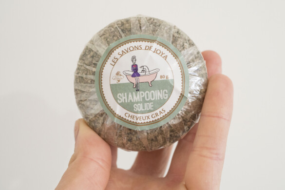 shampoing solide les savons de Joya